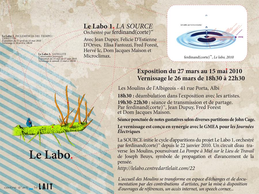 Le LABO 1, Le LAIT, ALbi