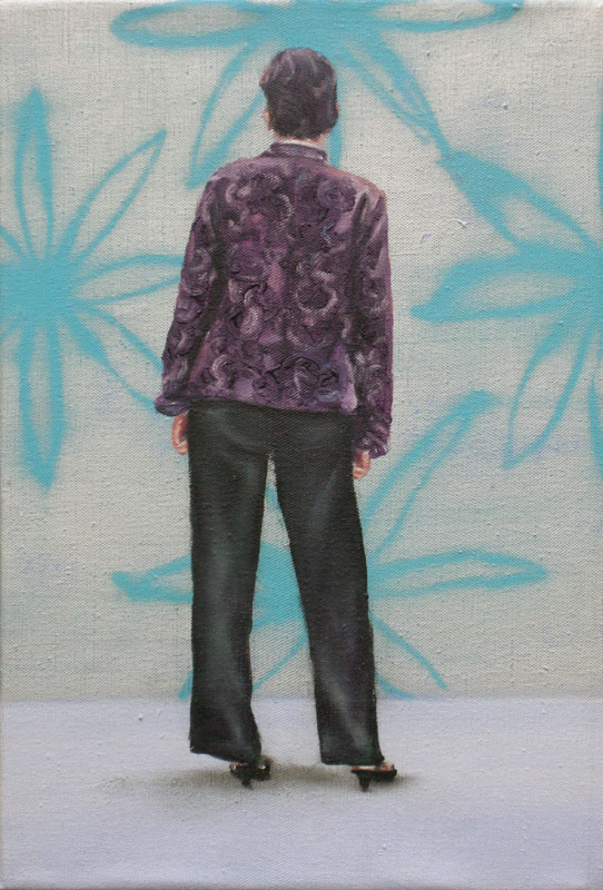 back portrait